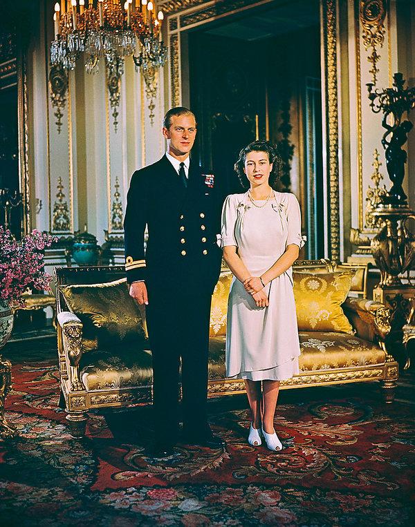 Królowa Elżbieta II, książę Filip
