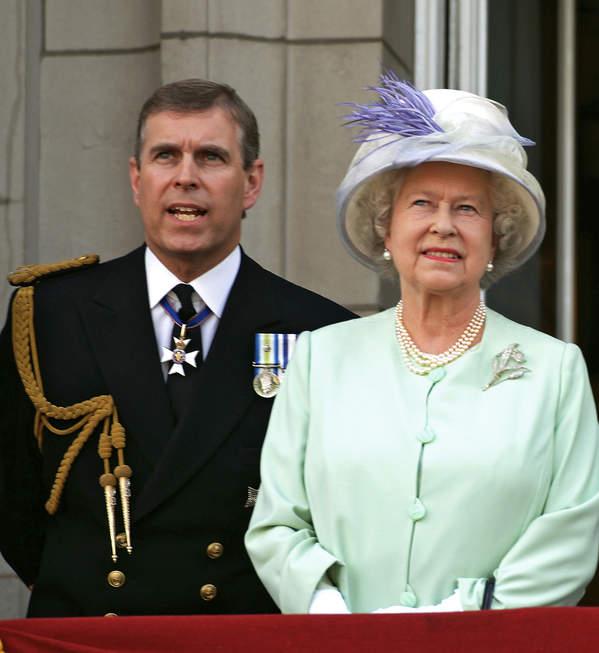 królowa Elżbieta II, książęAndrzej