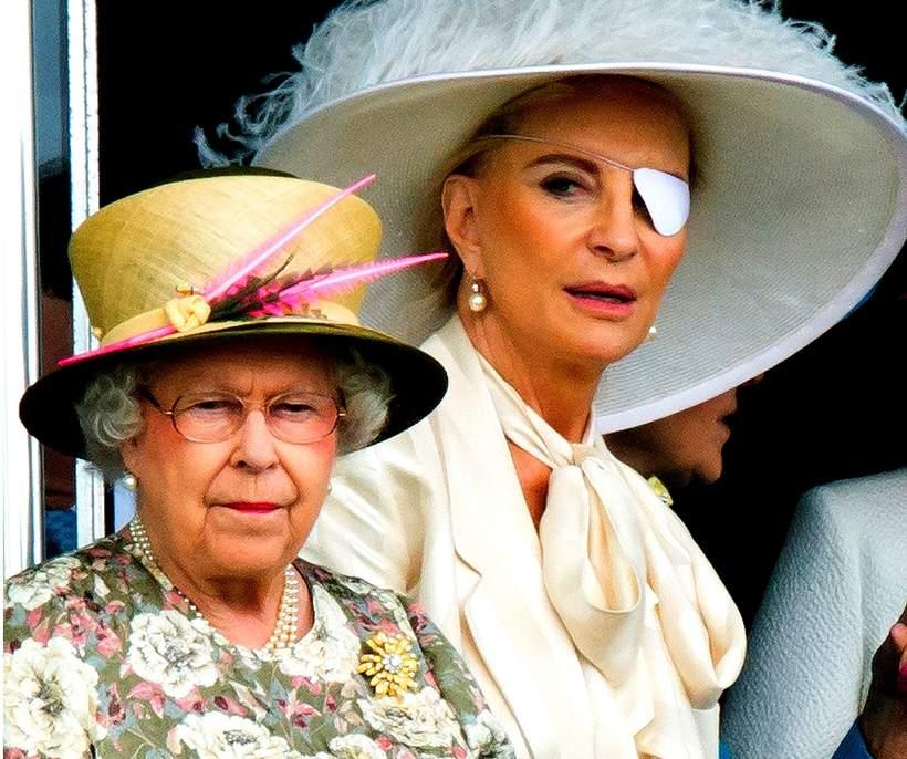 królowa Elżbieta II, księżna Michael z Kentu
