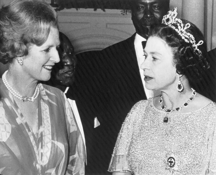 królowa Elżbieta II, Margaret Thatcher