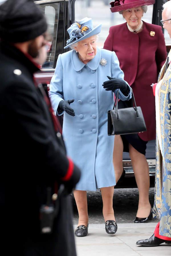 Królowa Elżbieta II na Dniu Wspólnoty Narodów