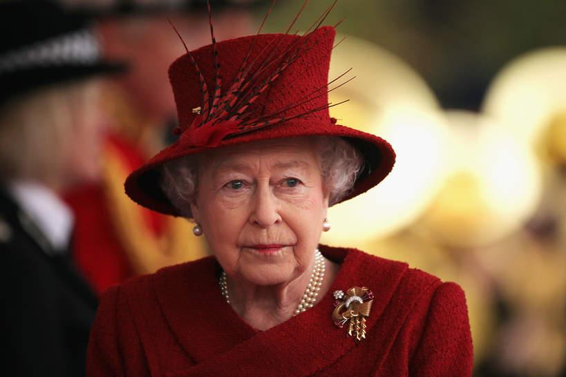 królowa Elżbieta II po śmierci Filipa