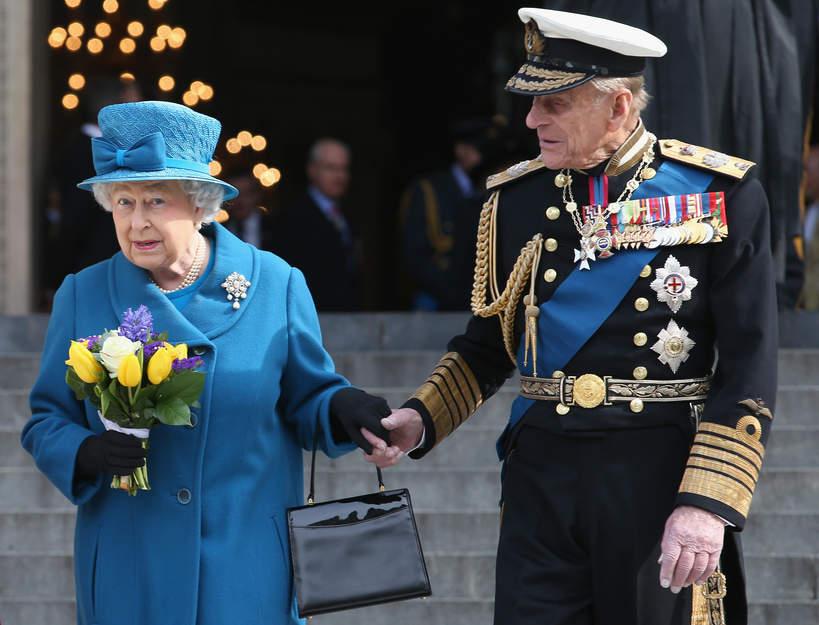 królowa Elżbieta II po śmierci księcia Filipa