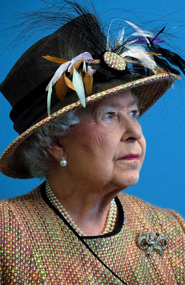 Królowa Elżbieta II portret