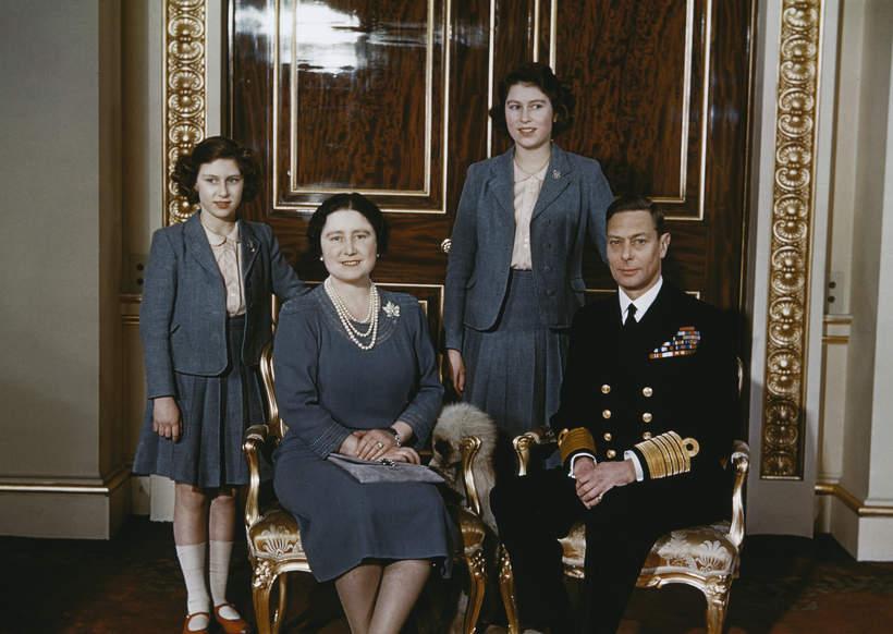 królowa Elżbieta II rodzina