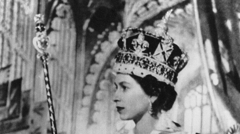 Królowa Elżbieta w dniu koronacji, 02.06.1953