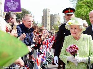 Krolowa Elżbieta w dniu swoich 90 urodzin