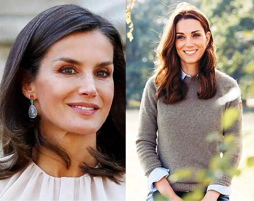 Krolowa Letizia konkurencja modowa dla Kate Middleton?