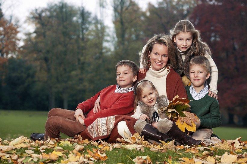 Królowa Matylda jest matką czwórki dzieci