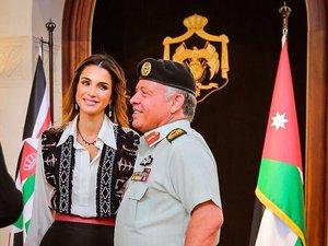Królowa Rania i król Abdullah