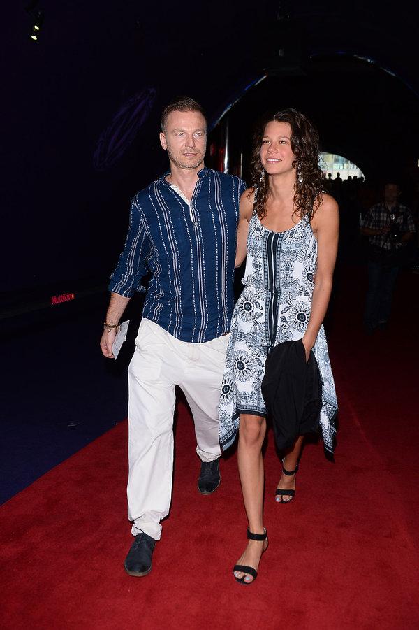 Krystian Wieczorek i Maria Szafirska na premierze filmu