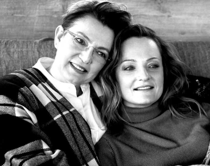 Krystna Czubowna z córką, VIVA! marzec 2016