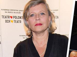 Krystyna Janda o kryzysie w związku Cezarego i Katarzyny Żak