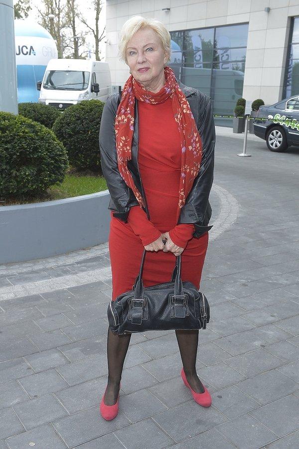 Krystyna Kofta na inauguracji akcji
