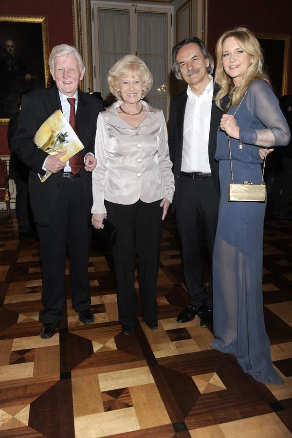 Krystyna Loska z mężem i córką