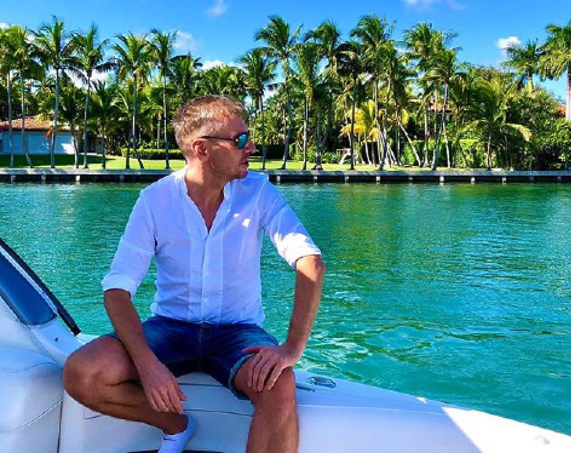 Krzysztof Gojdź w Miami