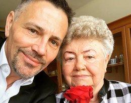 Krzysztof Ibisz z mamą