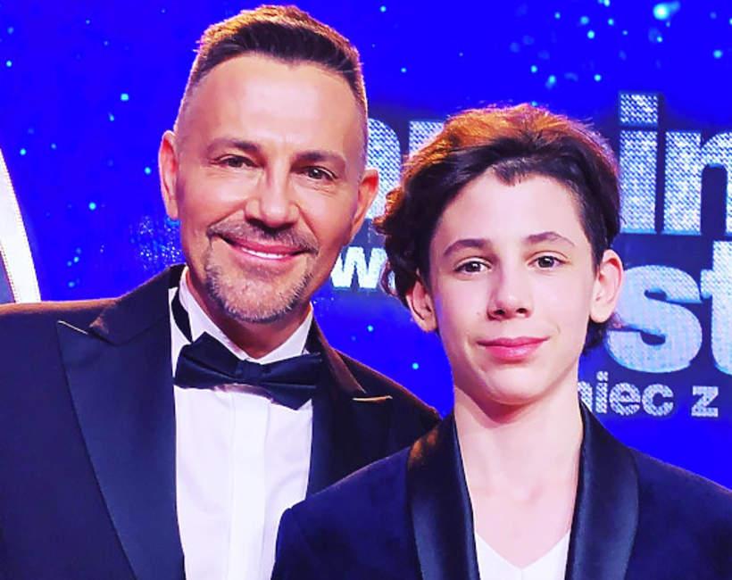 Krzysztof Ibisz z synem Vincentem, Krzysztof Ibisz