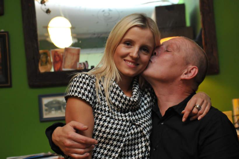 Krzysztof Jackowski, żona, Katarzyna Gliszczyńska