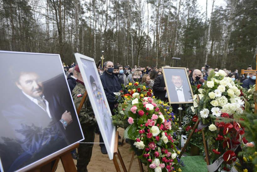 Krzysztof Krawczyk, pogrzeb, 10 kwietnia 2021, Pogrzeb Krzysztofa Krawczyka