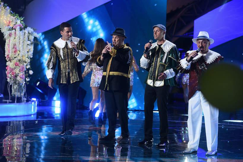 Krzysztof Krawczyk wystąpił w Mrągowie z zespołem Trubadurzy