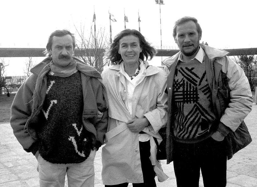 Krzysztof Wielicki, Wanda Rutkiewicz, Jerzy Kukuczka