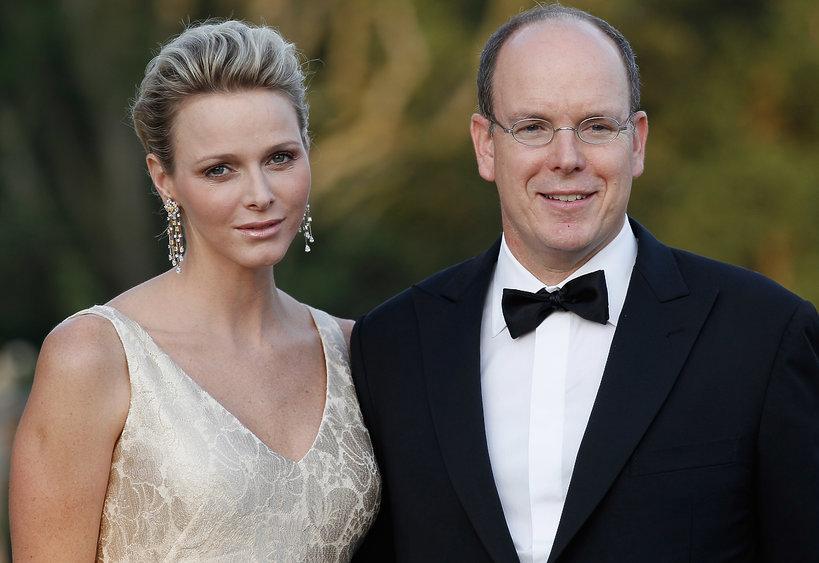 Książę Albert, księżna Charlene