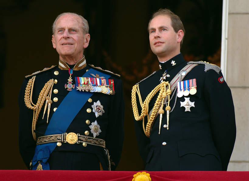 Książę Edward, książę Filip