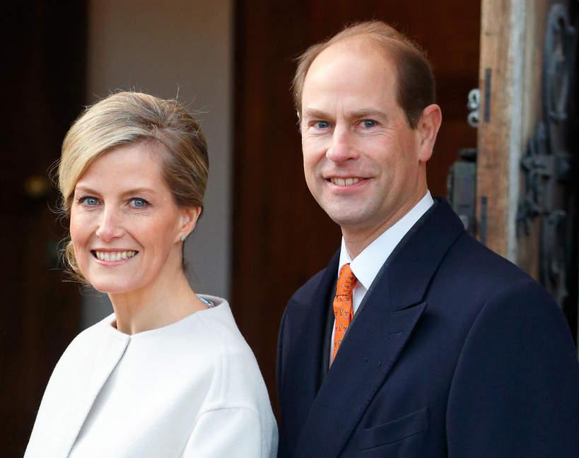 Książę Edward, księżna Sophie