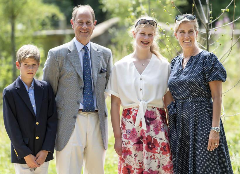 Książę Edward, księżna Sophie, dzieci