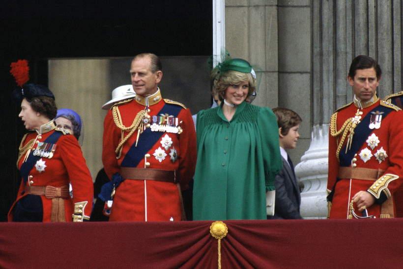Książę Filip i księżna Diana