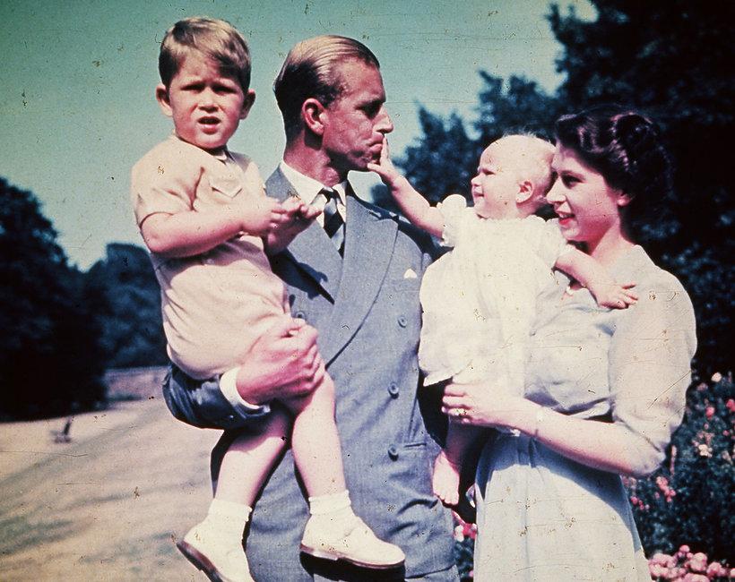 Książę Filip jako ojciec