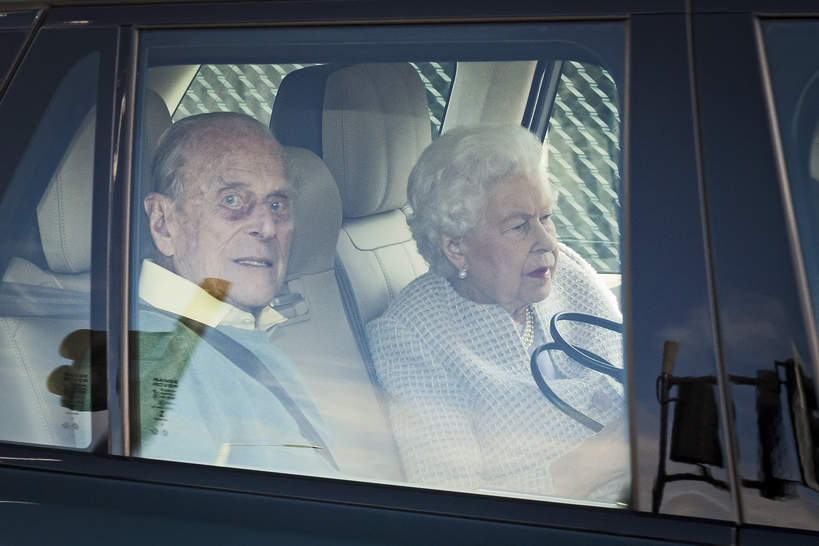 książę Filip, Królowa Elżbieta II