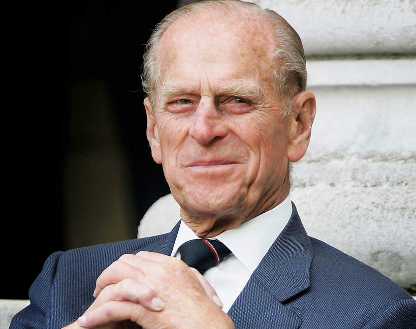 książę Filip ma infekcję
