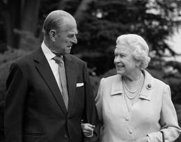 Książę Filip i królowa Elżbieta II byli małżeństwem 74 lata. Ich miłośćprzetrwała największe burze