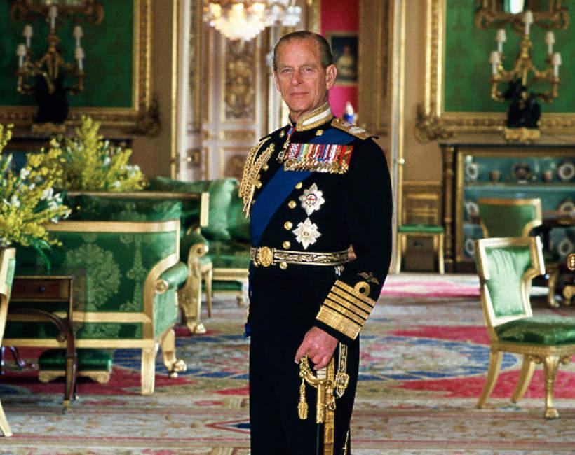 Książę Filip portret