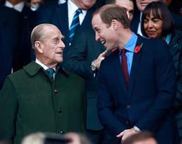 Książę William zabrał głos w sprawie stanu zdrowia księcia Filipa