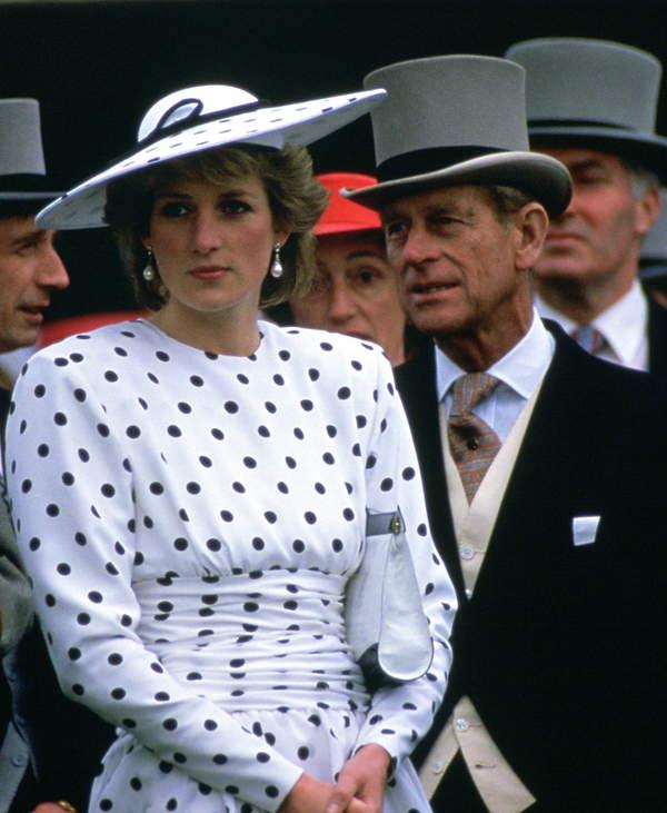 Książę Filip wspierał Dianę