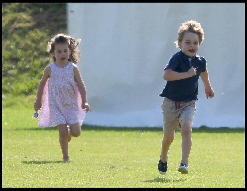 Książę George, księżniczka Charlotte, księżna Kate