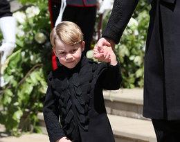 Książę George na ślubie Meghan Markle i księcia Harry'ego