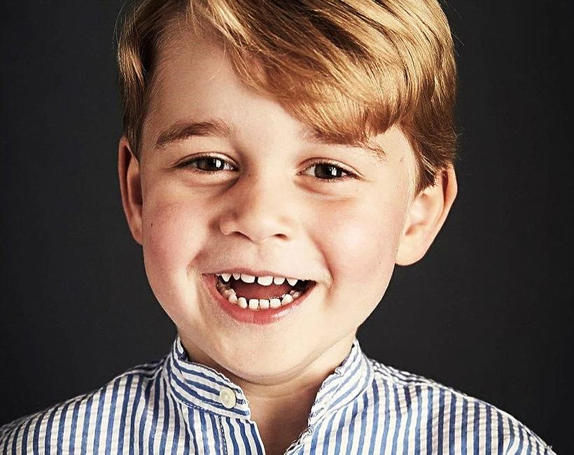 Książę George, urodziny księcia George'a, oficjalny portret księcia George'a