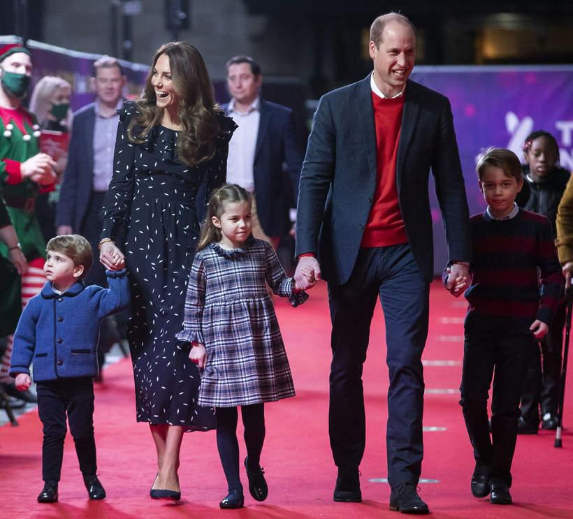 Książę Geroge, księżniczka Charlotte, książę Louis, 2020