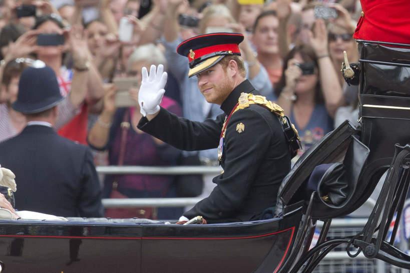 Książę Harry, 2016 rok, 90. urodziny królowej Elżbiety II