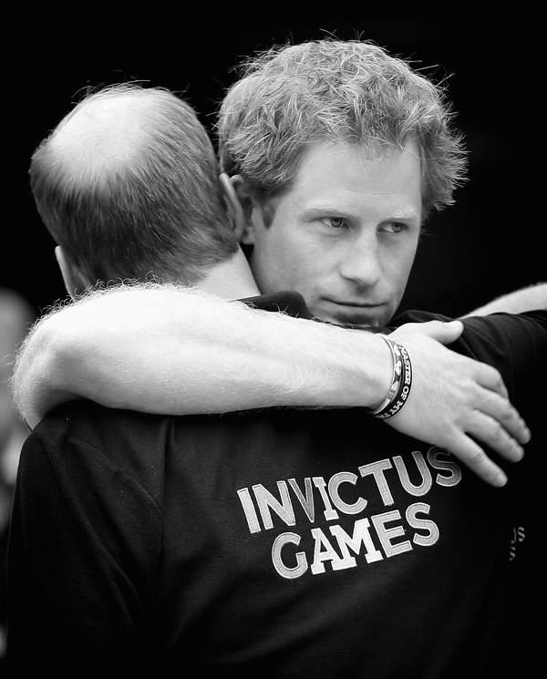 książę Harry i książę William