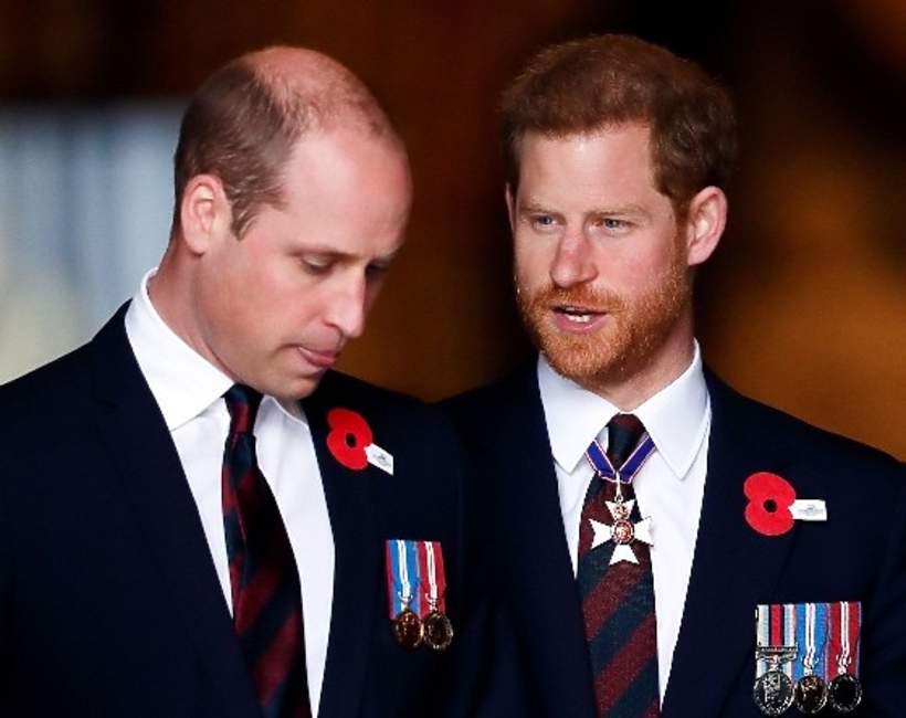 książę Harry i książę William konflikt