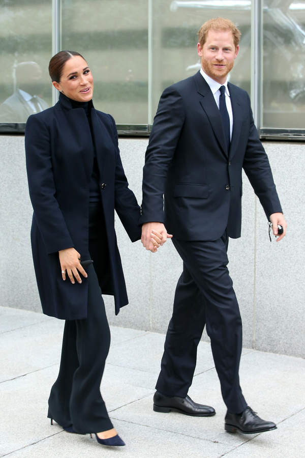 książę Harry i księżna Meghan 2021 NOwy Jork
