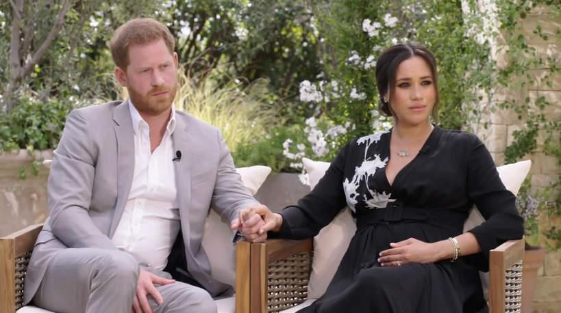 Książę Harry i Meghan Markle - wywiad z Oprah Winfrey