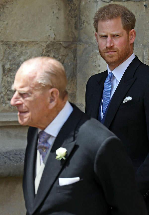 ksiażę Harry, książę Filip, 2019