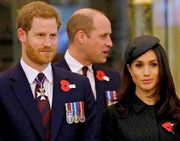 Książę Harry, książę William, księżna Meghan Markle