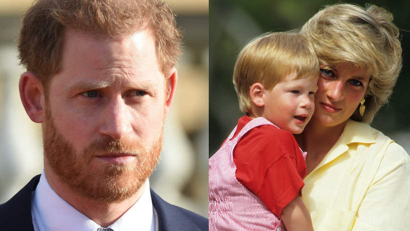 Książę Harry, księżna Diana